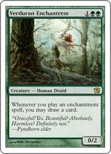 Вердуранская чародейка (Verduran Enchantress)