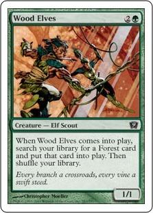 Лесные эльфы (Wood Elves)