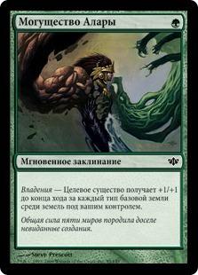 Могущество Алары (Might of Alara)