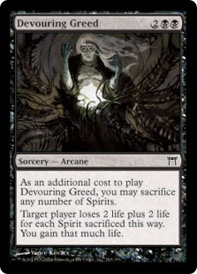 Devouring Greed