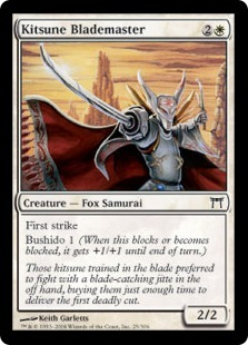 Kitsune Blademaster