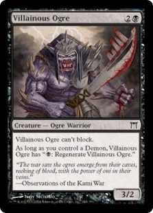 Villainous Ogre