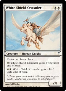 White Shield Crusader