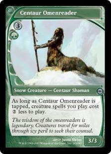 Кентавр, Толковательница Знаков (Centaur Omenreader)