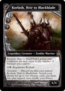 Корлаш, Наследник Черного Меча (Korlash, Heir to Blackblade)