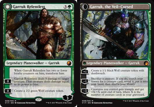 Garruk Relentless // Garruk, the Veil-Cursed