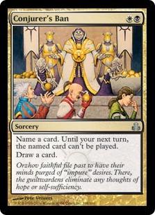 Conjurer's Ban