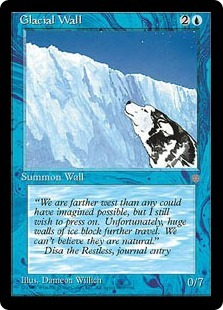 Glacial Wall
