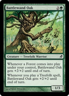 Battlewand Oak
