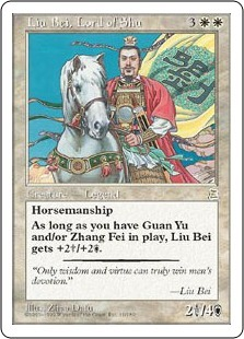 Liu Bei, Lord of Shu