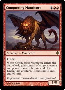 Conquering Manticore