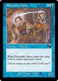 Telepathic Spies