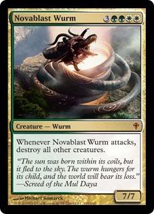 Novablast Wurm