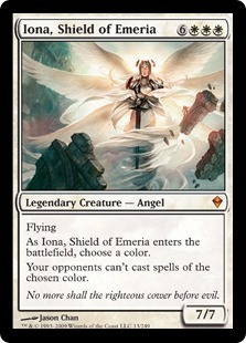 Iona, Shield of Emeria