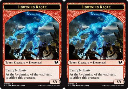 Lightning Rager/Lightning Rager Token