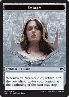 Emblem Liliana Token