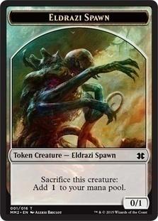 Eldrazi Spawn 1 Token