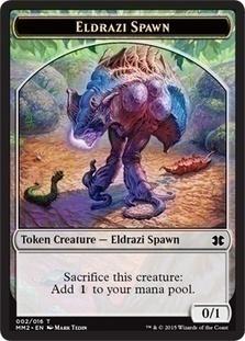 Eldrazi Spawn 2 Token