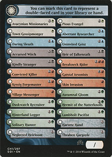 Чеклист карт Токен 1