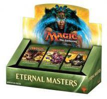 MTG: Дисплей бустеров издания Eternal Masters на английском языке