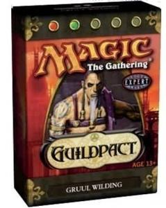 MTG: Начальный набор «Gruul Wilding» издания Guildpact