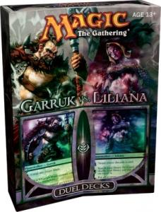 MTG: Дуэльный набор «Garruk vs. Liliana»