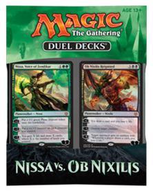 MTG: Дуэльный набор «Nissa vs. Ob Nixilis»