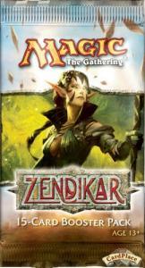 MTG: Бустер издания Zendikar на английском языке