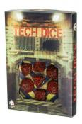 Набор кубиков «TECH DICE Red & Black» (d4, d6, d8, d10, d12, d20, d100)