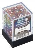 Набор кубиков STUFF PRO D6 под мрамор. Кофейные 12мм 36 шт