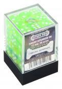 Набор кубиков STUFF PRO D6. Прозрачные светло-зеленые 12мм 36 шт