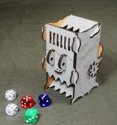 Башня для бросания кубиков - Dice Crusher серый