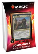 MTG: Колода Commander Deck: Ruthless Regiment издания Ikoria: Lair of Behemoths на английском языке