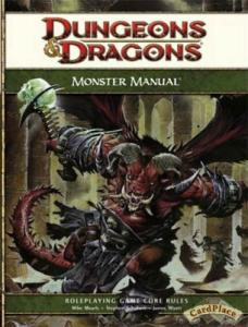 Dungeons & Dragons: Monster Manual 4