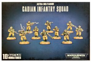 Кадианский Ударный Взвод Имперской Гвардии (Imperial Guard Cadian Shock Troops)