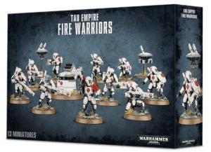 Миниатюры Warhammer 40000: Воины Огня Тау (Tau Empire Fire Warriors)