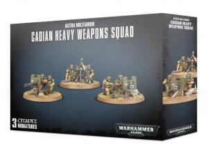 Миниатюры Warhammer 40000: Astra Militarum Cadian Heavy Weapon Squad