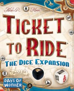 Ticket to Ride: The Dice Expansion (на английском)