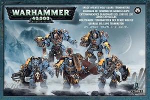 Терминаторы Волчьей Стражи Космических Волков (Space Wolves Guard Terminators)