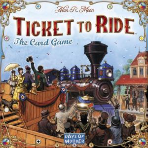 Ticket to Ride: The Card Game (на английском)