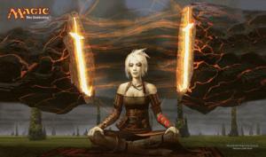 Игровое поле «Stoneforge Mystic»