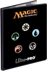Альбом Ultra-Pro c 10 встроенными листами 3х3 - Символы маны