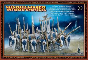 Копейщики Высших Эльфов (High Elf Warriors Regiment)