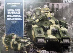 Сверхтяжелый танк Карающий Меч (Imperial Guard Baneblade)