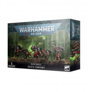 Миниатюры Warhammer 40000: Рота Смерти Кровавых Ангелов (Blood Angels Death Company)