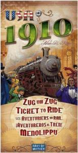 Ticket to Ride: USA 1910 (дополнение, на английском)