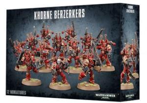 Берсеркеры Кхорна Космодесанта Хаоса (Chaos Space Marines Khorne Berzerkers)
