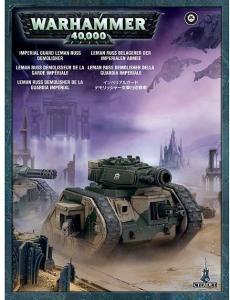 Миниатюры Warhammer 40000: Демолишер Леман Расс Имперской Гвардии (Imperial Guard Demolisher)