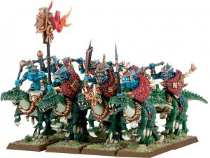 Seraphon/Lizardmen Saurus Cavalry
