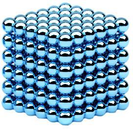 Неокуб, 5 мм, Альфа 216, Голубой